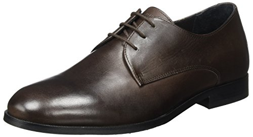 Royal RepubliQ Herren Cast Derby Shoe Classic Derbys Braun (Brown)