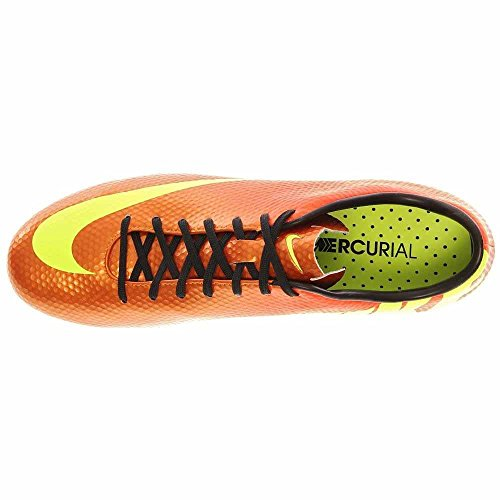 Nike Mens Mercurial Veloce Fg Scarpe Da Calcio Cleated Sunset / Crimson / Black / Volt