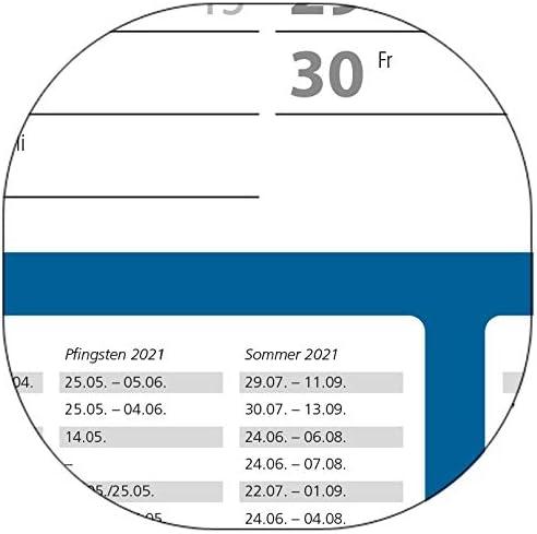 3 STÜCK - Schuljahres - Wandkalender 2020-2021 DIN A1 3-farbig (gerollt) - Wandplaner 2020-2021 mit Ferienübersicht für alle Bundesländer (Versand sehr günstig!)