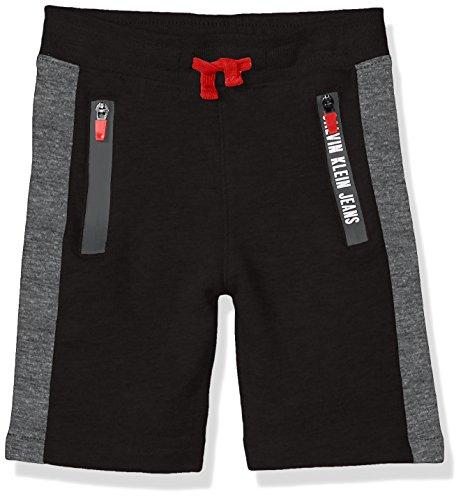 Knit Boys Shorts (Calvin Klein Big Boys' Knit Athletic Short, Black, Large (14/16))