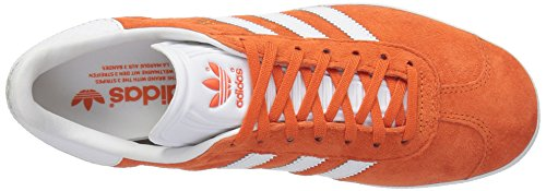 Adidas Gazelle Hombre Sneaker BY2853 Orange Running Shoes 44 EU - 9.5UK