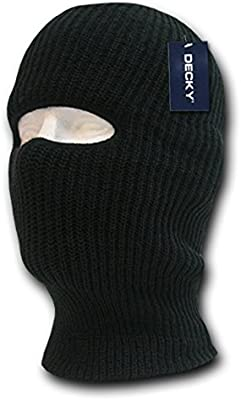 a59e8a7145e Amazon.com  DECKY Face Mask 1 Hole Beanie