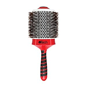 HairArt Itech Magnetic Tourmaline Boar and Nylon Bristle Hair Brush