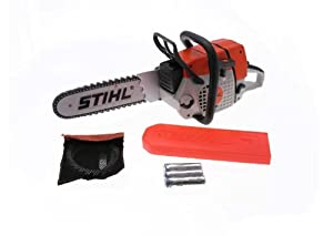 stihl children 39 s battery operated toy chainsaw. Black Bedroom Furniture Sets. Home Design Ideas