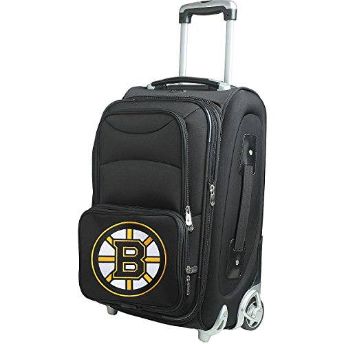 NHL Boston Bruins 21-Inch Carry-On by Denco