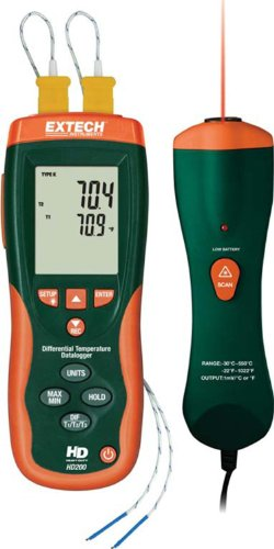 Extech HD200 NISTL Thermometer Limited Nist