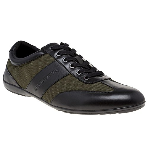 Armani Mode Baskets Homme Emporio Formal Noir awqRdWnCvx