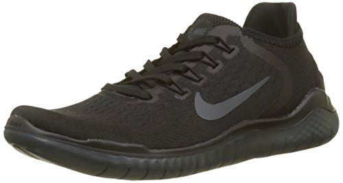 (Nike Free Rn 2018 Sz 8 Womens Running Black/Anthracite Shoes )