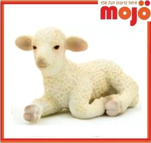 MOJO LAMB HAND PAINTED REPLICA FARM ANIMAL COLLECTABLE TOYS FIGURES 387099 by Mojo Fun