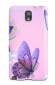 New Butterfly Tpu Case Cover, Anti-scratch Christopher T Allen Phone Case Galaxy Note 3