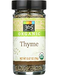 365 Everyday Value, Organic Thyme, 0.67 oz