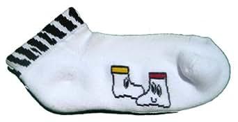 Cortese Designs zebra socks