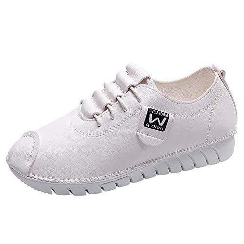 Zapatos Moda Para Mujer Tobillo Blandas Sylar Conveniente De Color Antideslizante Blanco Mocasines Suelas Sólido Planos Invierno Caminar wqXddH