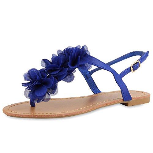 napoli-fashion - Chanclas Mujer Azul