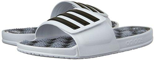 6b2d3e8f0072 durable modeling Adidas Performance Men s Adissage 2.0 Stripes Athletic  Sandal