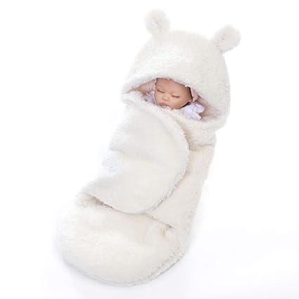 Yousorld Saco de Dormir para Bebé Recién Nacido Peleles Infantiles con Sentido Confortable, Mantita Envolvente