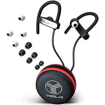 Amazon.com: TREBLAB XR800 - Earphones Bluetooth - Secure-Fit ...
