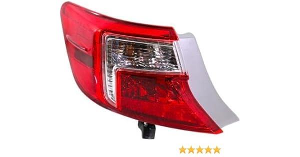Crash Parts Plus Left Driver Side Tail Light Tail Lamp for 2012-2014 BMW 3 Series