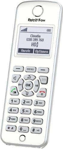 AVM FRITZ!Fon M2 DECT-Komforttelefon für FRITZ!Box (Monochromes Display, HD-Telefonie)
