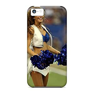 High Quality Indianapolis Colts Cheerleaders Outfit Case For Iphone 5c / Perfect Case
