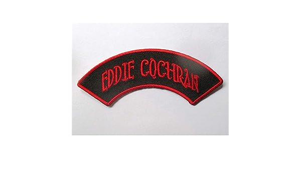 hotrodspirit Parche Eddie Cochran con Bandera de Rockabilly Fan Rock Roll
