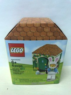 LEGO Easter Bunny Hut Iconic Easter Minifigure Set (5005249) -