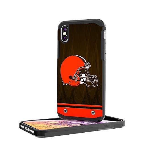 Keyscaper NFL ClevelandBrowns KRGDXM-KNFL-CBRG01 Rugged Case, Black, iPhone Xs Max