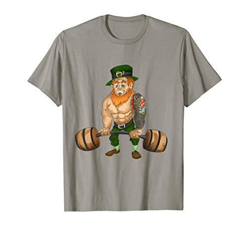 Leprechaun TShirt St Patricks Day Tattoo Koi Fish Shirt Gift