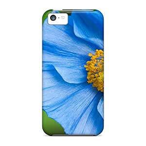 MMZ DIY PHONE CASEOQJWq4903toHhN Faddish Blue Sky Poppy Flower Love Case Cover For iphone 6 plus 5.5 inch