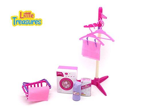 Little Treasures Baby House Miniature Laundry Playset ()