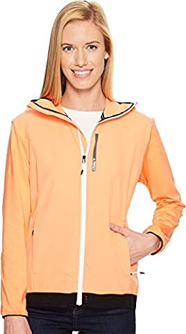 Adidas Sport Performance Women's Voyager Jacket, Easy Orange, L - Orange Womens Performance Jacket