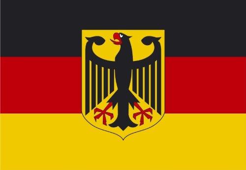 Fahne / Flagge Deutschland mit Adler NEU 150 x 250 cm