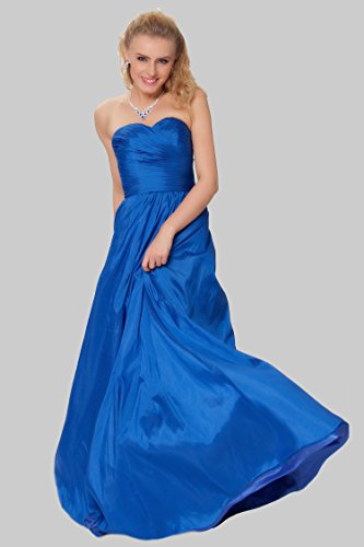 de Real de las tirantes noche entero Gorgeous EDJ1589 damas SEXYHER Azul honor de cuerpo formal Encuadre de vestido sin gqFSBOw