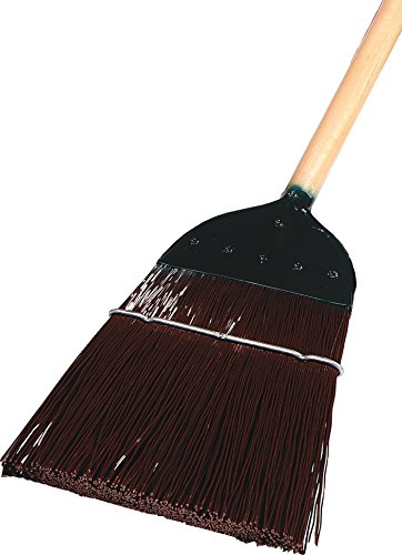 Carlisle 4564901 1-Stitch Top Broom, 1'' H, 54'' L, 11'' W, Metal - Other, 54''/ 1 lb, Brown (Pack of 6)