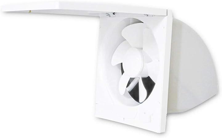 Hty Ventilador de Escape Cocina 10 Pulgadas Tipo de Ventana Campana extractora Ventilador de ventilación Potente Ventilador de Escape doméstico Ventilador de Escape: Amazon.es: Hogar