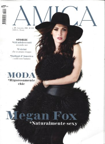 Price comparison product image Amica Magazine Megan Fox Milan Italy September 2011 Christina Lucchini