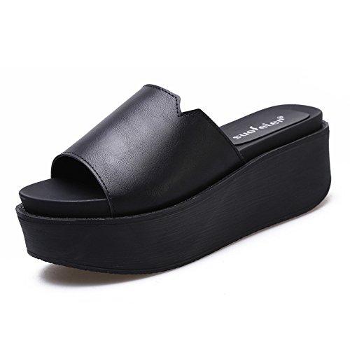 taille Pour 7cm été 5 de Couleur en épaisseur Femelle hautes 6 couleurs Bottines chaussures UK5 femmes CN38 HAIZHEN femmes en pour sortes chaussures 4 2 EU38 avec gros 4xBAU8q