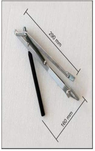 Temperaturgesteuerter Fensterheber Automatischer Fenster/öffner f/ür Treibh/äuser Gew/ächsh/äuser Fr/ühbeete und Gartenh/äuser