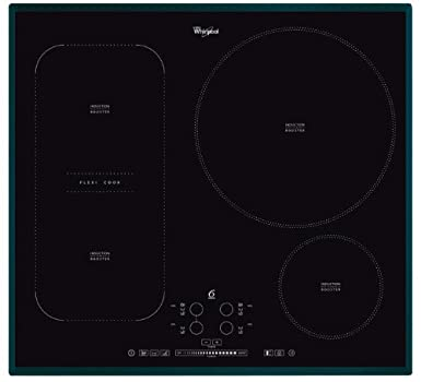 Exceptional Whirlpool Induction Hob ACM 847, Black