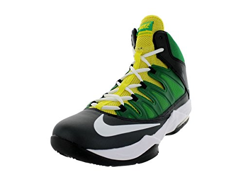 Scarpe Da Basket Nike Mens Air Max Stutter Nero / Bianco / Appl Grn / Yllw Strk