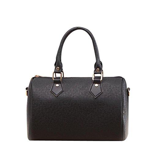 Tote Messenger Women Bag Purse Black White Leather Brezeh one size Shoulder Bag Red Hobo Handbag UBxBwzI
