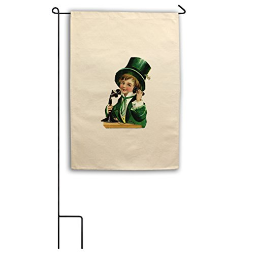 "Style in Print Canvas Yard House Garden Flag 18""X27"" Irish B"