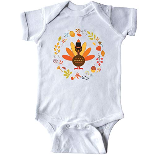 inktastic - Thanksgiving Turkey Fall Infant Creeper 24 Months White 31dec from inktastic