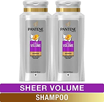 Pantene Pro-V Sheer Volume 2 Pack of 25.4 fl oz Shampoo