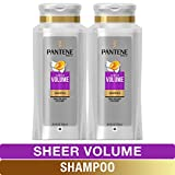 Pantene, Shampoo, Pro-V Sheer Volume for Fine Hair, 25.4 fl oz, Twin Pack