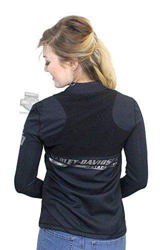 Harley-Davidson Womens Mesh Overlay Activewear Jacket 96162-18VW (Harley Womens Activewear)