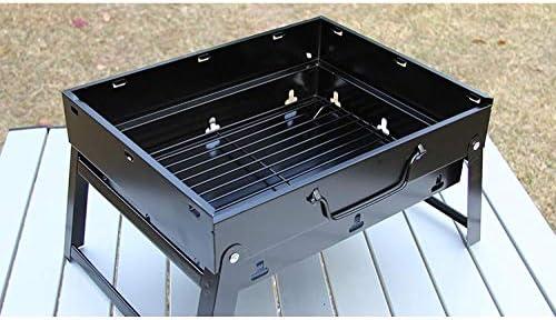zhongleiss Barbecue Au Charbon Grill Portable Pratique Barbecue Extérieur Mini Gril À Charbon Domestique