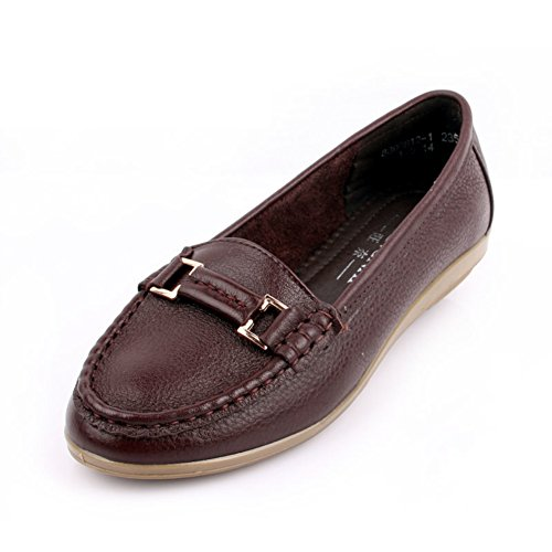 Las señoras extremo blando de zapatos femeninos de mediana edad/Zapatos de mujeres/Zapatos de mamá A