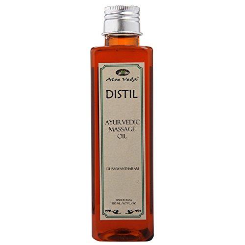 Aloe Veda Distil Ayurvedic Massage Oil Dhanwantharam 200ml