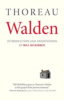 Walden: With an Introduction and Annotations by Bill McKibben by [Thoreau, Henry David]